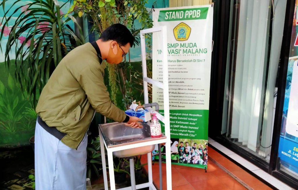 Sambut New Normal, SMP Muda Tambah Fasilitas Kesehatan-Pemisahan Belajar 1