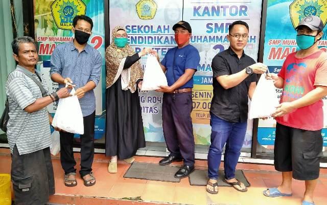 Bimensi SMP Muda Kota Malang, Salurkan Zakat Siswa Pada Delapan Asnaf 1