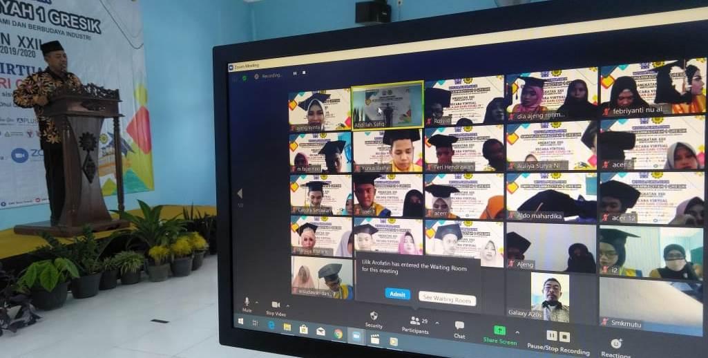 Mitra DUDI Apresiasi Wisuda Virtual SMK MuTu Gresik 1