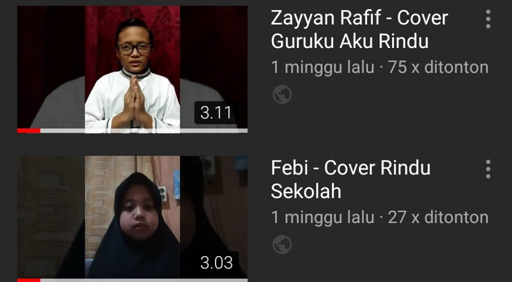 SDM 5 Kota Malang Sukses Gelar Lomba Cover Lagu GAR 1