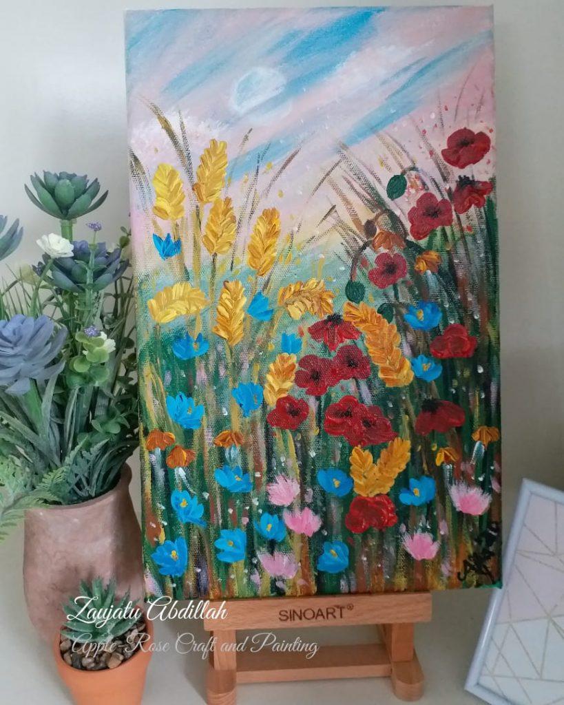 dr.Alfa Lelang Lukisan, Hasilnya Diserahkan LazisMu Kota Malang 1