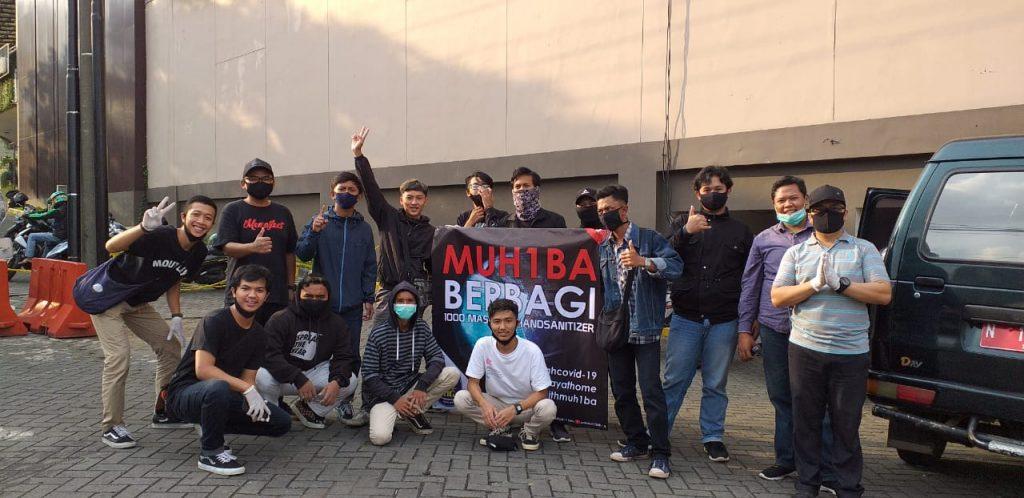 SMK MUH1BA Bagi Seribu Masker-Handsanitizer 1