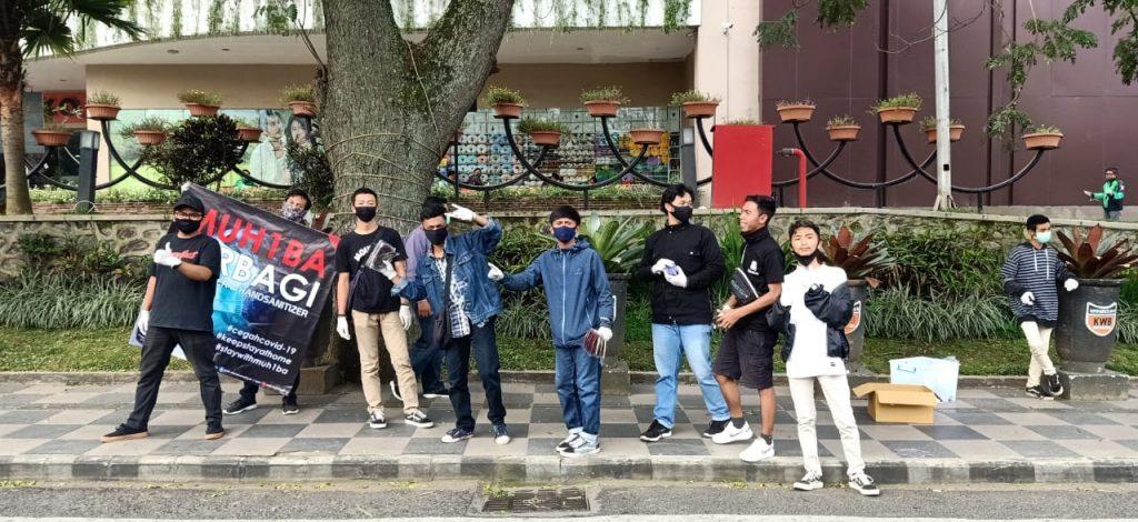 SMK MUH1BA Bagi Seribu Masker-Handsanitizer 2