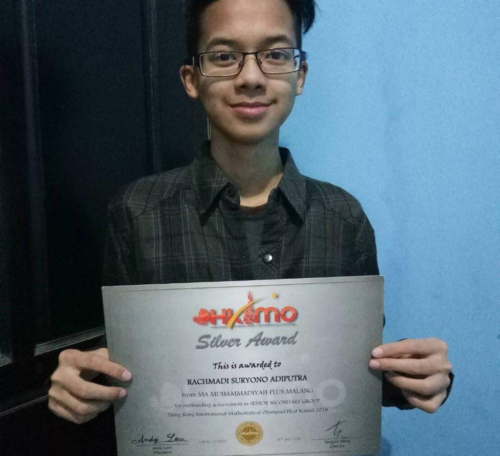 Peraih Silver Award Hongkong Sains Asal Malang, Rachmadi Siswa Mamumtaza 1