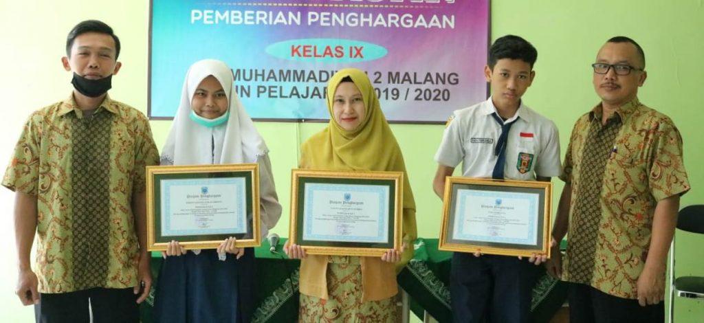 Kalau Siswanya Prestasi, SMP Muda Langsung Beri Penghargaan 1