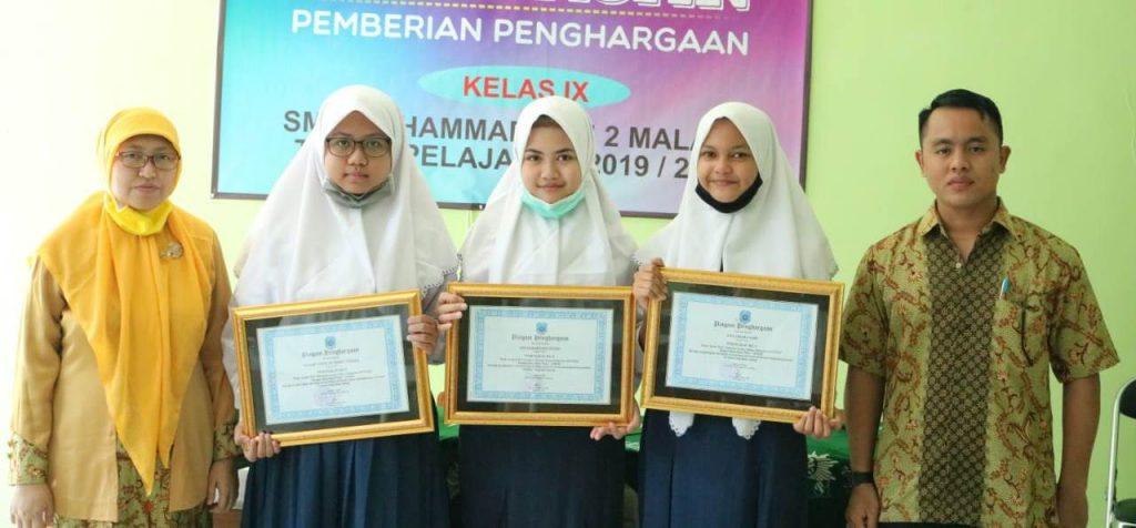 Kalau Siswanya Prestasi, SMP Muda Langsung Beri Penghargaan 2