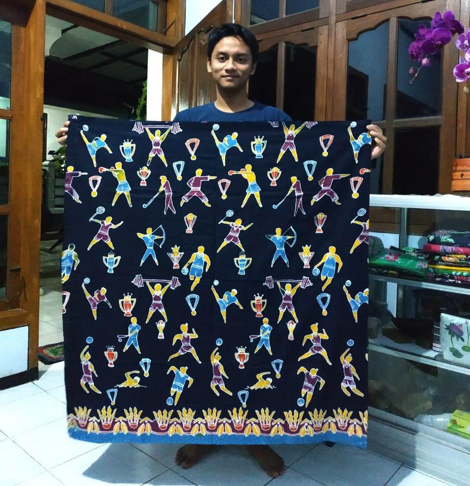 Work From Home Guru SMPM 8 Batu, Ciptakan Batik Ngolah Rogo 2