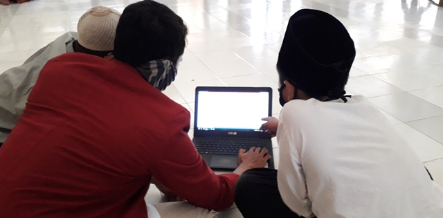 Jelang Akhir Pengabdian, PMM 91 UMM Bahasa Arab Digital 1
