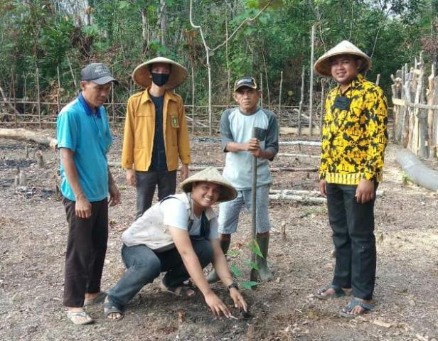 PW IPM Sumsel Bagi Ribuan Bibit Pohon Produktif 1