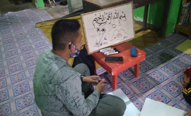 Media Gambar Santri RTM Indralaya Tadabur Ayat Kauniyah 1