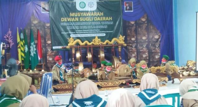 Langgam Jawa Warnai DSD Hizbul Wathan Kwarda Lamongan 2