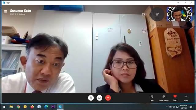AIC Jepang Interview Enam Siswa SMK Muhisa 1