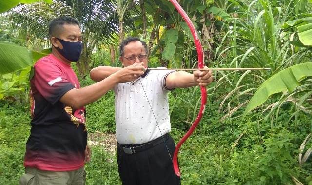 Pengurus RTM Indralaya Program Memanah 1