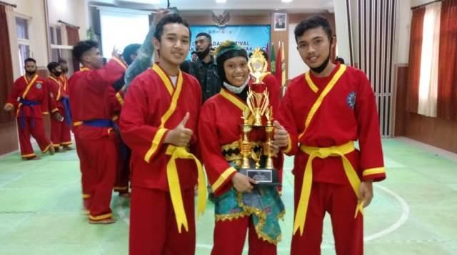 Dua Atlit Tapak Suci SMK Muhisa Juara 1