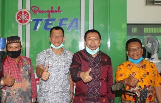 Direktur Pembinaan SMK Terpikat Bengkel TEFA SMK Muhisa 1