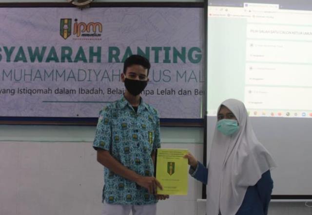 Raih 65 Persen Suara Ilman Pimpin IPM Mamumtaza Kota Malang 1