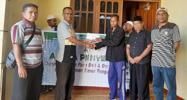 FP2I Timur Tengah Selatan, Beri Insentif Sejumlah Dai-Guru TPQ 2
