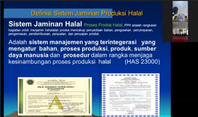 Ketua Halal Corner UMM Jelaskan Ikrar Halal Muhammadiyah-Sertifikat Halal Pada Puluhan UMKM Lawang 1
