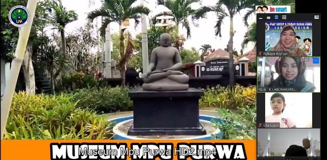 Kunjungi Museum Mpu Purwa, Guru TK Lab UM Edukasi Sejarah Siswanya 3