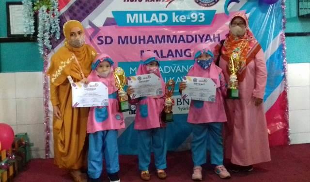 Tiga Siswa ABA 10 Kota Malang Raih Juara 1