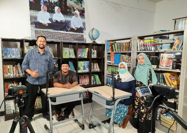 Sambut Milad Muhammadiyah, SMPM8 Batu Launching Edu Podcast 1