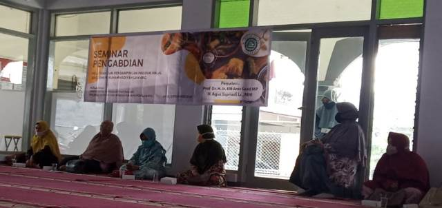Seminar Pengabdian Halal Tindak Lanjutnya Pendampingan SJH UMKM Lawang dan Sosialisasi Ikrar Halal Muhammadiyah 2