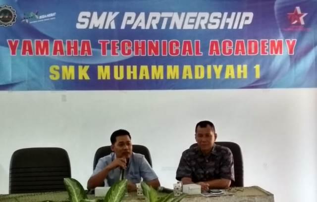 Datangkan Mitra Iduka, SMK Muhisa Incar Yamaha Technical Academy 1