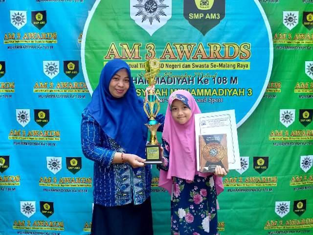 Pemenang Award Ingin Daftar Sekolah SMP AM3 2