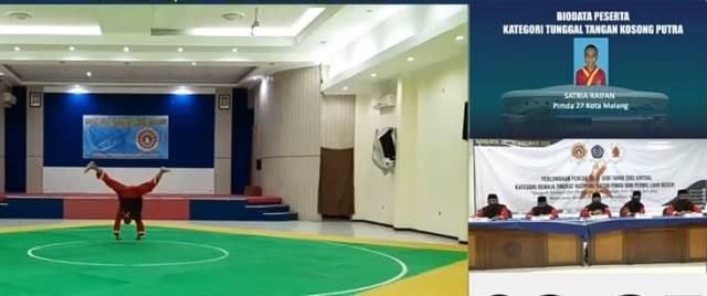 Tiga Atlit Tapak Suci Kota Malang Juara Antar Pimda-Perwil Luar Negeri 2