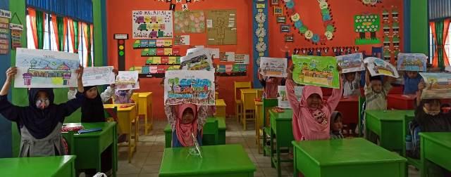 Gebyar Milad Muhammadiyah 108, SDM 2 Kota Langsa Aceh Lomba Seni-Religi 2