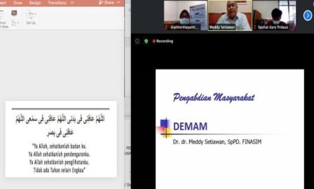 PKM Dosen FK UMM Latih Kader Aisyiyah Penatalaksanaan Demam 1