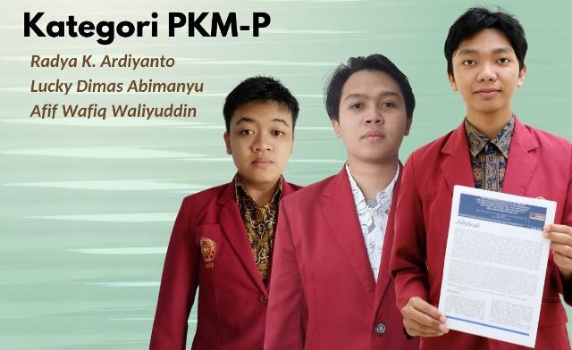 Optimalkan Kulit Bawang Merah, Tiga Mahasiswa FK UMM Juara Pimtanas 1