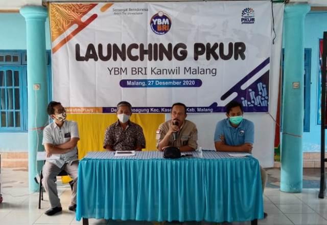 YBM BRI Kanwil Malang Launching PKUR Wonoagung Kasembon 1