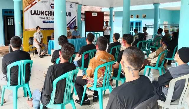 YBM BRI Kanwil Malang Launching PKUR Wonoagung Kasembon 2