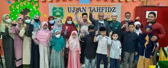 Tiga Malam Siswa SD Muhammadiyah 2 Langsa Aceh Ujian Tafidz 2
