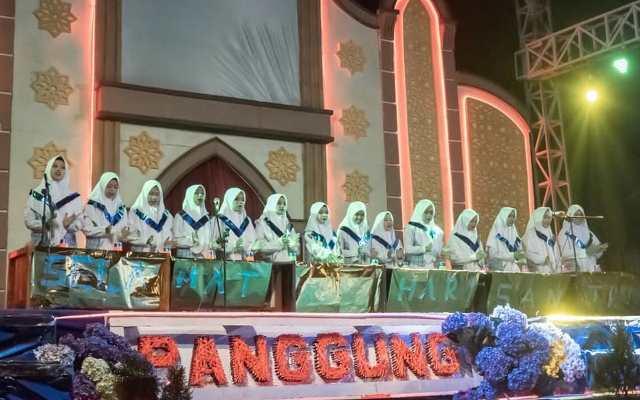 Panggung Spektakuler SAPG Aksi Talenta Santri Babussalam Karangploso 2
