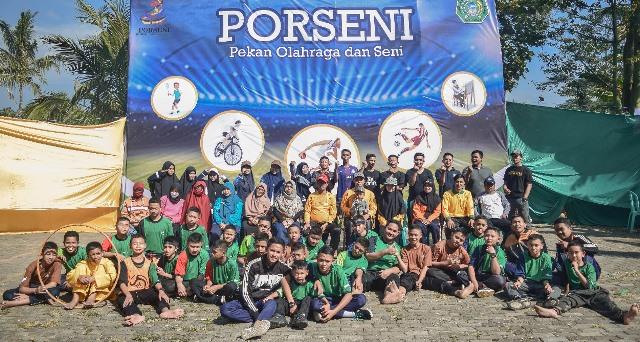 Ponpes Babussalam Gelar Porseni, Tumbuhkan Semangat Prestasi Olahraga Santri 1