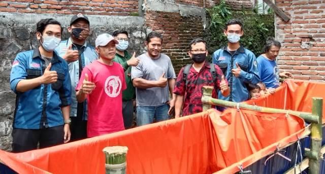 Prodi Perikanan FPP UMM Beri Life Skill Warga Madyopuro Budidaya Lele 2