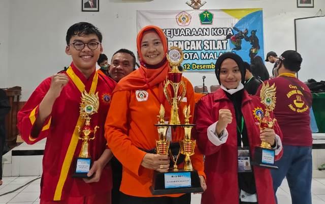 Tapak Suci Kota Malang Tambah Digdaya, Juara Umum Kejurkot IPSI 1