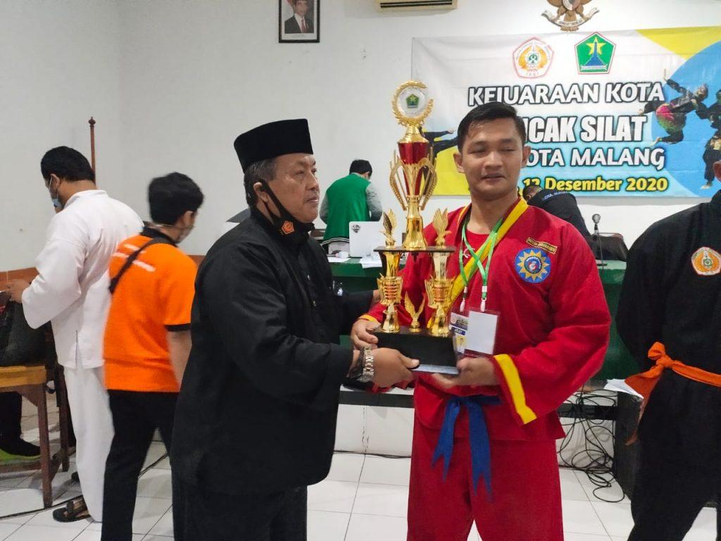 Tapak Suci Kota Malang Tambah Digdaya, Juara Umum Kejurkot IPSI 2