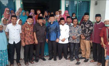 Suara Terbanyak, Paslon Bupati Agam Sumbar, Kunjungi Muhammadiyah Dukung Program 1