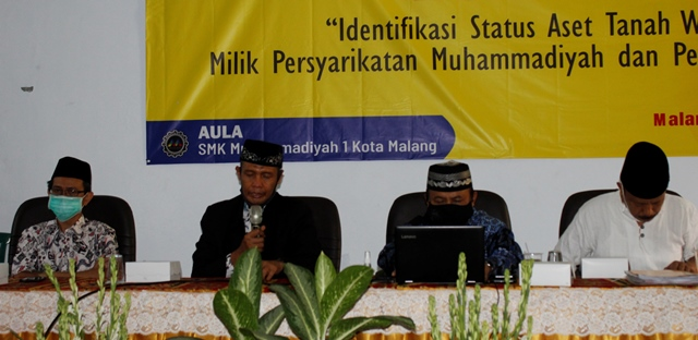 Majelis Wakaf PDM Kota Malang Bentuk Tim Pendataan Aset 1