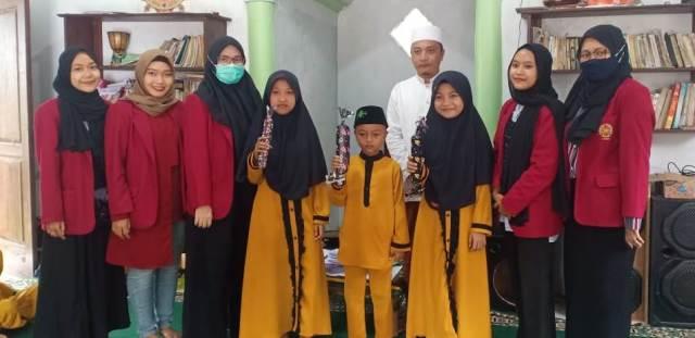 Akhiri Pengabdian, PMM 79 UMM Gelar Kreatifitas Siswa Madrasah Diniyah 1