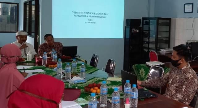 SMP Muhasa-SMAMSA Bahas Desain Pendidikan Sekolah Menengah 1