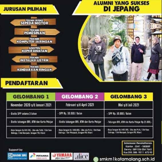 PPDB SMK Muhammadiyah 1 Malang
