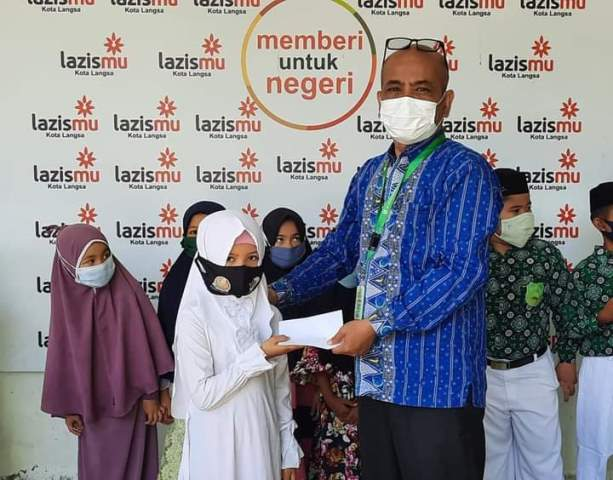 Lazismu Kota Langsa Aceh Satuni 25 Yatim 1