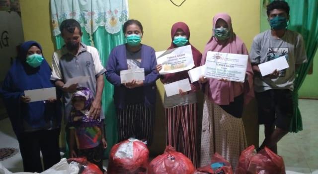 Dapat Uang-Rendangmu Korban Erupsi Ile Lewotok NTT, Puji Lazismu Kota Malang 1