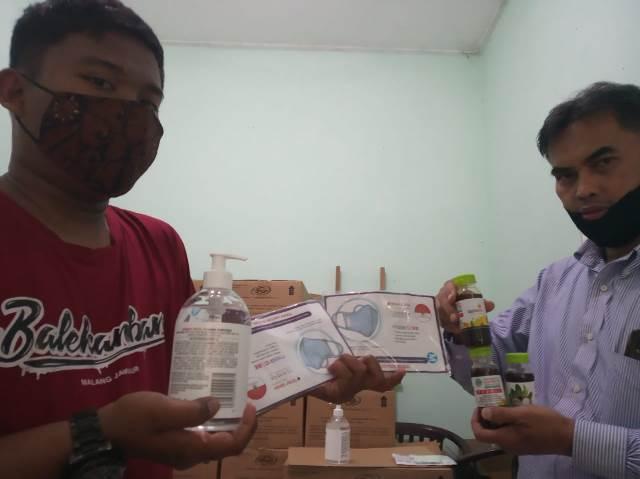 Lazismu Kota Malang Gerojok 5 PCM Ratusan Paket Tanggap Covid 1