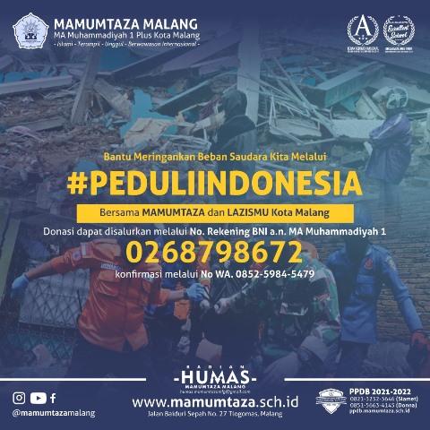 Ayo Bantu Mamumtaza-Lazismu Kota Malang Galang Dana Bencana Alam Nusantara 1