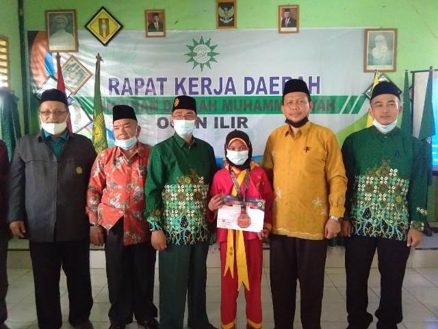 Rakerda PDM Ogan Ilir Sumsel Kokoh Manhaj Muhammadiyah-Penghargaan Atlit Prestasi 1